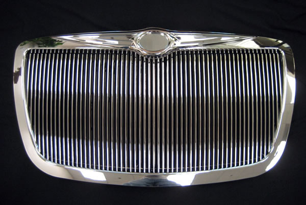 Chrysler 300 300C Chrome Vertical Grille
